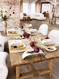 astounding rustic christmas table settings design decorating
