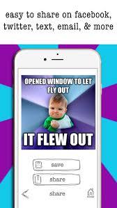Meme Maker For Iphone - easy meme maker funny meme creator editor pics app for iphone