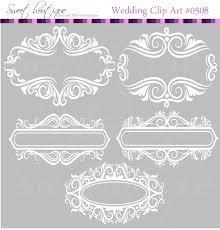 white floral frame ornaments decoration graphics border