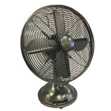 12 inch 3 speed oscillating fan hunter retro 12 in 3 speed oscillating onyx copper personal table