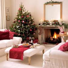 how to decorate your home for christmas simple how to decorate living room for christmas coffee table design