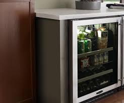 ritzy lock summit appliance glass door mini refrigerator in glass