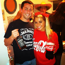 jack and coke costumes this year so easy to do products i