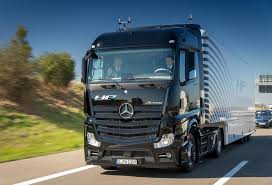 mercedes actros trucks highway pilot the mercedes actros drives itself on the autobahn
