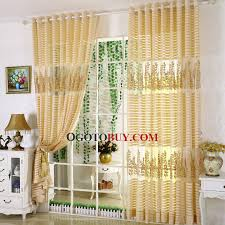 gold sheer curtain loading zoom