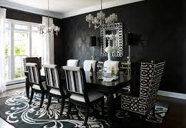 black and white dining room ideas papermill estate east cobb ga contemporary dining room