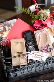 gift basket themes potato gift basket idea for him fantabulosity