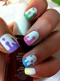 nice acrylic gel nail designs for short nails http
