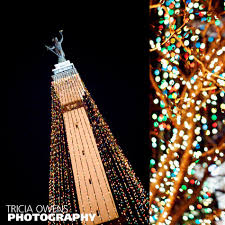 downtown indianapolis photography circle of lights noblesville