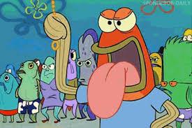 Spongebob Krabby Patty Meme - gif lol spongebob spongebob squarepants krabby patty tongue patty