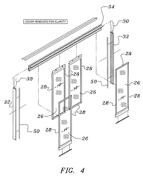 patent us7259359 automated glass entrance door assembly for walk