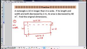 word problems with polynomials youtube