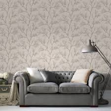 Living Room Ideas Gold Wallpaper Cream U0026 Gold Icy Trees Glitter Effect Wallpaper Wallpaper Spare