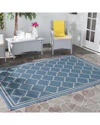 Safavieh Outdoor Rug Deal Alert Safavieh Courtyard Transitional Blue Beige Indoor