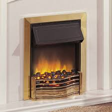 beautiful dimplex danesbury brass electric fire unbeatable prices