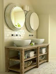 Bathroom Vanity With Shelves Fantastic Open Shelf Bathroom Vanity Ideas Throughout Vanities