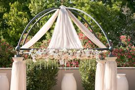wedding arches orlando fl luxe outdoor wedding at loews portofino bay hotel in orlando fl