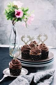 antler cake topper antler cupcake topper deer cupcake topper deer antler cake