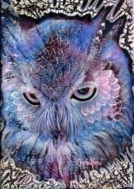 owl item limited edition owl print beautiful owl painting owl art