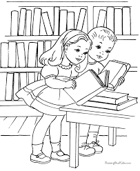 Coloring Page Of A School Child At School Coloring Page 540177 by Coloring Page Of A School