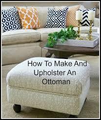 best 25 diy ottoman ideas on pinterest diy storage pouf tufted