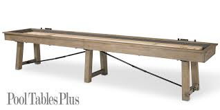 isaac shuffleboard table by pland and hide