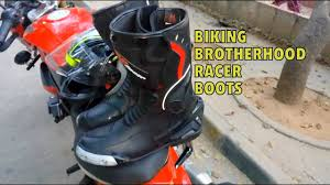 budget motorcycle boots biking brotherhood racer boots new model first impression