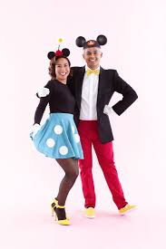 Mickey Mouse Halloween Costume Adults Mickey Minnie Mouse Halloween Costume Couplesgoals
