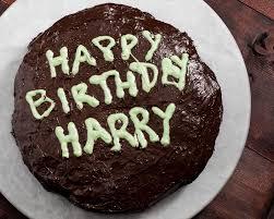 happy birthday harry potter vegan u0026 gluten free chocolate cake