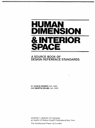 Time Saver Standards For Interior Design Human Dimension U0026 Interior Space
