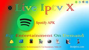spotify ad free apk spotify apk unlimited ad free live iptv x