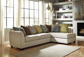 Ashley Furniture Leather Sectional With Chaise Decorating Vista Chocolate Casual 3 Piece Ashley Furniture
