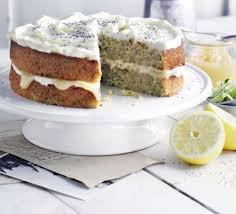 frosted courgette u0026 lemon cake recipe bbc good food