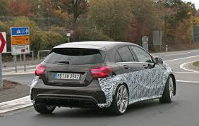 mercedes a45 2019 mercedes amg a45 to pack more than 400 hp autoevolution