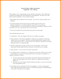 Writing A Research Paper Mla Format Mla Research Paper Outline Format