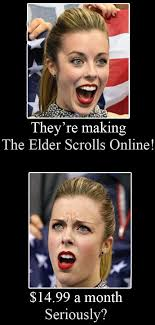 elder scrolls online meme ashley wagner skyrim pinterest