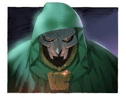 Dr Doom Mask Gelatometti Mf Doom Color