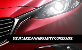 where does mazda come from what does my mazda warranty cover