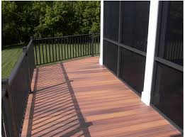 Decking Kits With Handrails Deck Railing Fixed Level Post Connection Kits Bronze