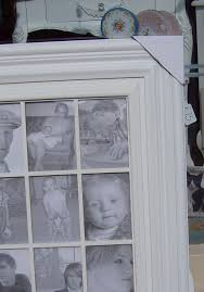 Large Shabby Chic Frame by Cream Large Multi Photo Frame Eighteen P 5x7 Photos