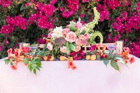 fruit bouquet san diego fruit inspired pink wedding inspiration in san diego