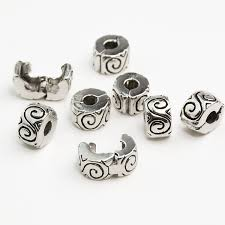 european bead charm bracelet images 925 clips locks beads water ripple stopper bead charm european jpg