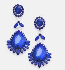 royal blue earrings blue earrings ebay