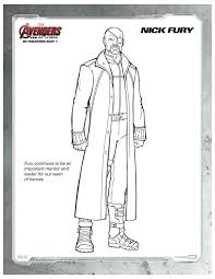 coloring pages of the avengers marvel avengers age of ultron nick fury coloring page mama likes