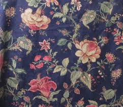decorator fabric 2 6yd floral waverly jacobean home decor fabric