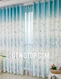 Teal And White Curtains Dreamy Acoustical Floral Teal Faux Silk White Home Curtains