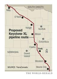 keystone xl pipeline map approves keystone xl pipeline ricketts calls a