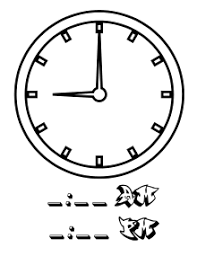 wikijunior clock coloring book hr 9 wikibooks open