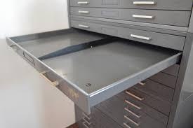 industrial 20 drawer metal flat file by hamilton galaxiemodern