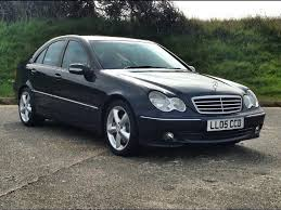 used mercedes c class for sale in uk used 2005 mercedes c class c200 kompressor avantgarde se for